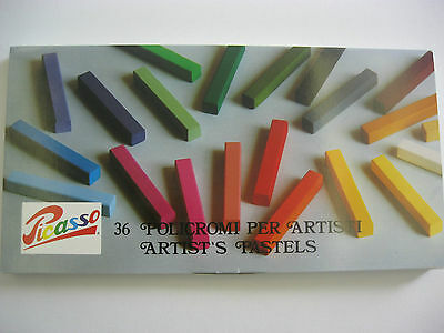 36 --Picasso Artist Pastel kit  Full Stick  (Made in Italy)