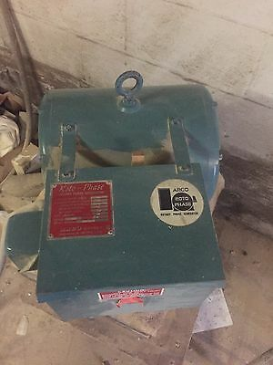 ARCO Roto-Phase CNC Rotary Phase Converter, 7.5-20 HP, 230 Volt USED