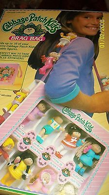 CABBAGE PATCH KIDS CASE FOR PVC FIGURES unUSED BRAG BAG