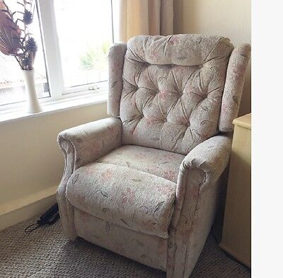 Lift And Recline Electric Arm Chair