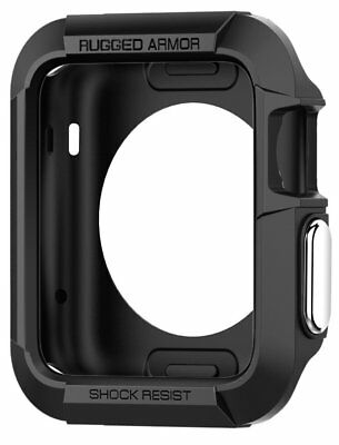 Spigen Tough Armor Case Protective Cover rugged for 42 mm Apple Watch Gunmetal