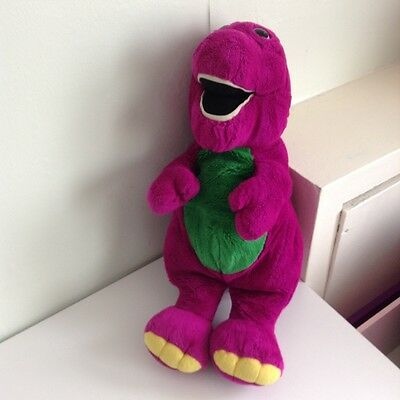 Barney dinosaur soft toy approx. 55 cm (22 inches)