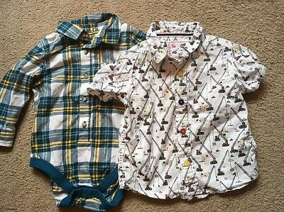 Baby Boy's Shirt Bundle 9-12 M