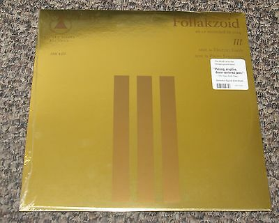 "Follakzoid - Iii - U.s. Import 12"" Vinyl Lp + Digital Download - New And Sealed"