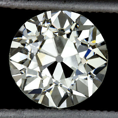 1.50ct OLD EUROPEAN CUT VINTAGE I VS2 CERTIFIED DIAMOND ROUND ART DECO ANTIQUE