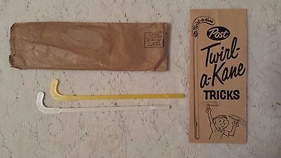 Vintage Post Cereal Premium TWIRL-A-KANE In Original Package