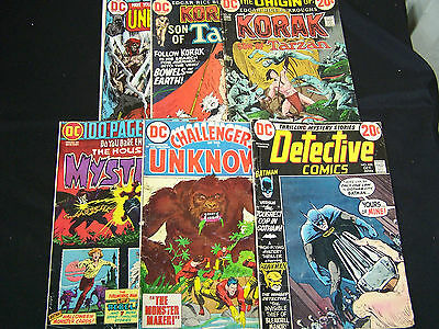 DC Comic Lot , 6 different issues