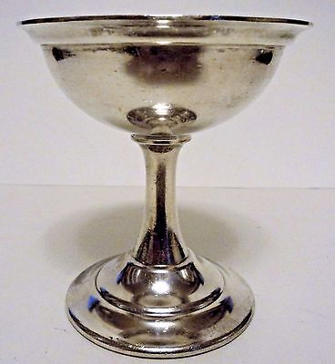 Reed & Barton Silver Soldered Pedestal Bowl Pattern 2838 ( 4 ¾'' Tall)