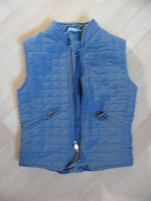 Mary-Anne Blue Horse Riding Gilet Age 7-8