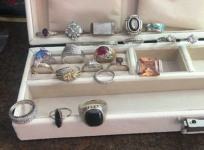 21 Sterling Silver Rings