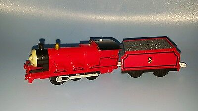 Tomy  thomas the tank engine battery operated train & carriage