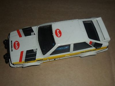 Scalextric rare vintage Audi Quattro rally car shell # 1 SUPERB
