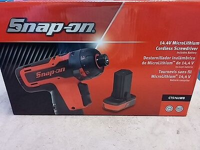 SNAP ON CTS761WB 14.4V Microlithium Cordless Screwdriver + Battery Brand New