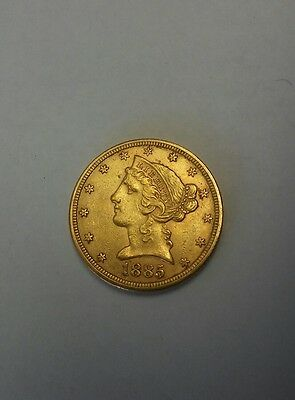 Us 5 dollar gold coin