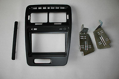 1990-99 Compatible for Nissan 300ZX Double Din Radio Bezel with Stock Finish