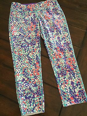 Ivivva By Lululemon Rhythmic Lux Crops Youth Size 12 Euc