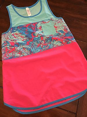 Ivivva By Lululemon B-Ballin Loss Fit Tank Top With Vents Top Youth Sz 12