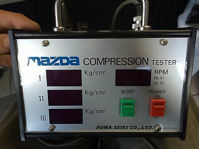 MAZDA OEM rotary compression tester 13B