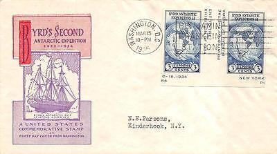 768a 3c Imperforate Byrd, Harry Ioor Cachet [E234198]
