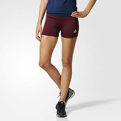 adidas Short Tights Women's Red