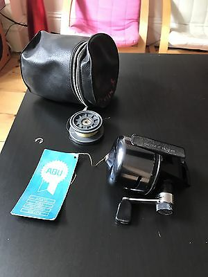 ABUMATIC 280 VINTAGE CLOSED FACE REEL 1970s WITH SPARE SPOOL