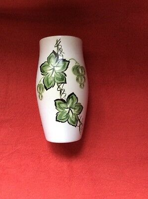 Radford Vase With Grape Vines And Grapes 15 Cms High