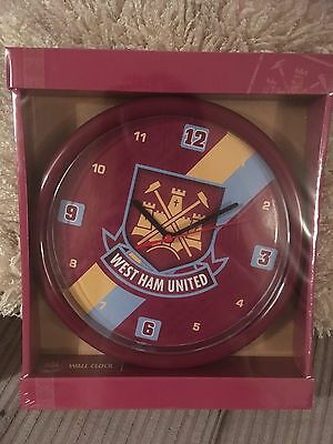 West Ham Wall Clock Brand New