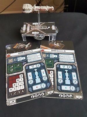 Star Wars Armada - CR90 Corellian Corvette Ship Barebones NO UPGRADE CARDS