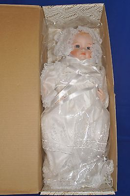 "Collectable Porcelain Doll~ALBERON~ 'BABY ALIX'~ 15"" Tall~~~~~2"