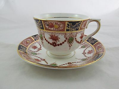 Vintage Colclough Cup & Saucer Bone China Made In London England