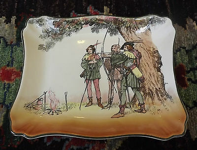 Royal Doulton  - Vintage Under The Greenwood Tree -  Dish - Plate - England -