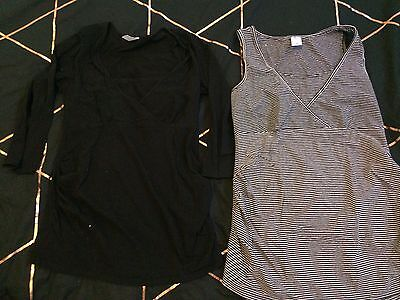 2 X Target Maternity Tops - Size 10