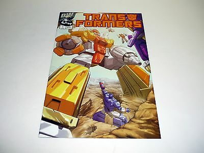 TRANSFORMERS GENERATION 1 #1 DW Comic Book Omega Supreme Cover C NM+ 2002
