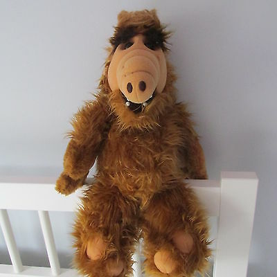 Vintage ALF 1986 plush COLECO doll ALIENS PRODUCTIONS RARE LARGE 18""
