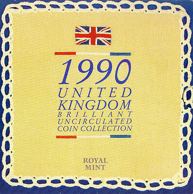 1990 United Kingdom Brilliant Uncirculated Coin Collection