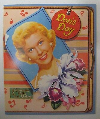 50s Movie TV Star DORIS DAY Paper Dolls Book UNCUT Whitman Publishing 1952 Repro