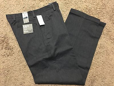 NWT DOCKERS Classic Fit Easy Khaki Pant Flat Front Midnight Heather 34X32 MSRP50