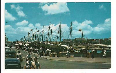 The Floating Market, Curacao, Netherland Antilles !