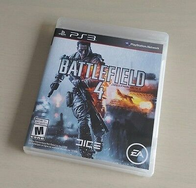 Battlefield 4 (PlayStation 3) PS3 Complete GREAT CONDITION