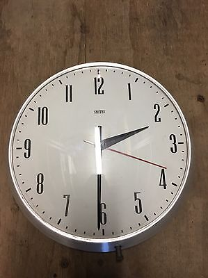 WALL CLOCK - SMITHS 1970's INDUSTRIAL RETRO VINTAGE - Made In Australia