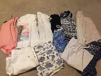 Huge Lot Juniors Summer Clothes Shorts Shirts American Rag Celebrity Aeropostale