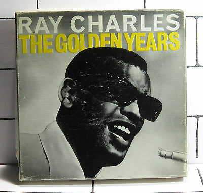 Ray Charles - The Golden Years - Reel To Reel Tape - 3.75 i.p.s - MONO