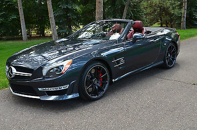 2014 Mercedes-Benz SL-Class SL63 AMG The Flagship of the Fleet-Only 3,865 Well Kept Miles-Needs Nothing-Summer Fun!!