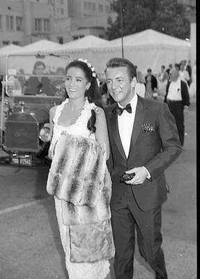 Linda Cristal And Bobby Darin At A Daytime Event   8X10 Photo 574