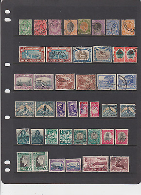 British South Africa 112 Used Stamps - Many Pairs