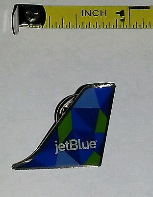 JetBlue Airways PRISM A-321 Tailfin Design Lapel Pin Tie Tack FREE SHIP