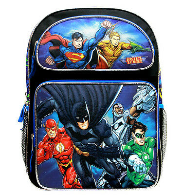 "Justice League Large 16"" Backpack #JL34940"
