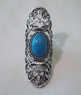 Costume Ring - Long - Southwestern Look