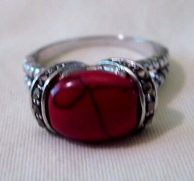 Costume Ring - Red South West Style