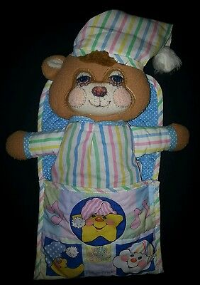 Teddy Beddy Bear Soft Sounds Fisher Price # 1405 Vintage Complete